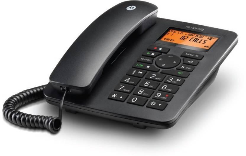 a5602f72da3 Motorola CT111I Corded Landline Phone with Answering Machine Price ...