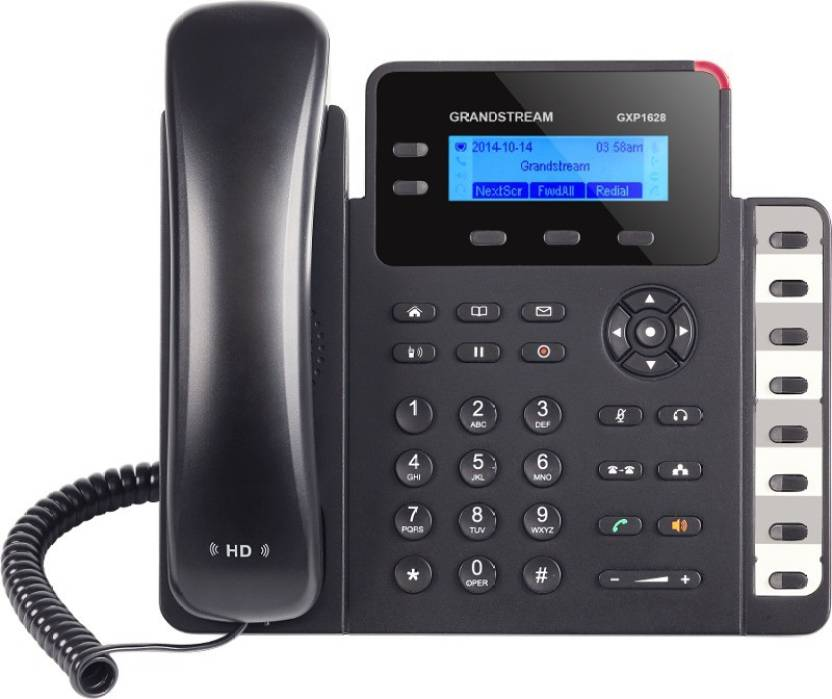 Grandstream GXP1628 Corded Landline Phone