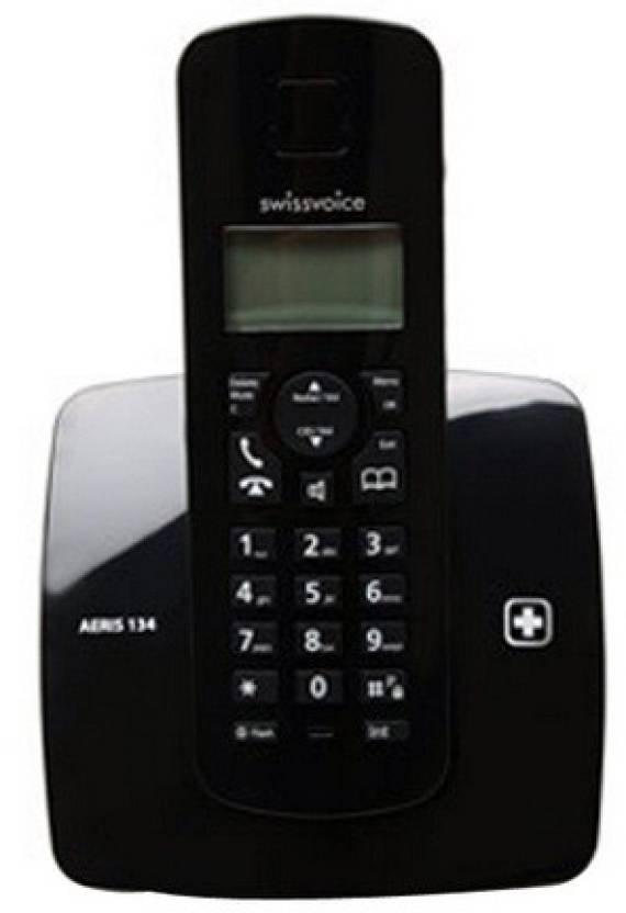 Swiss Voice Aeris 134 Cordless Landline Phone