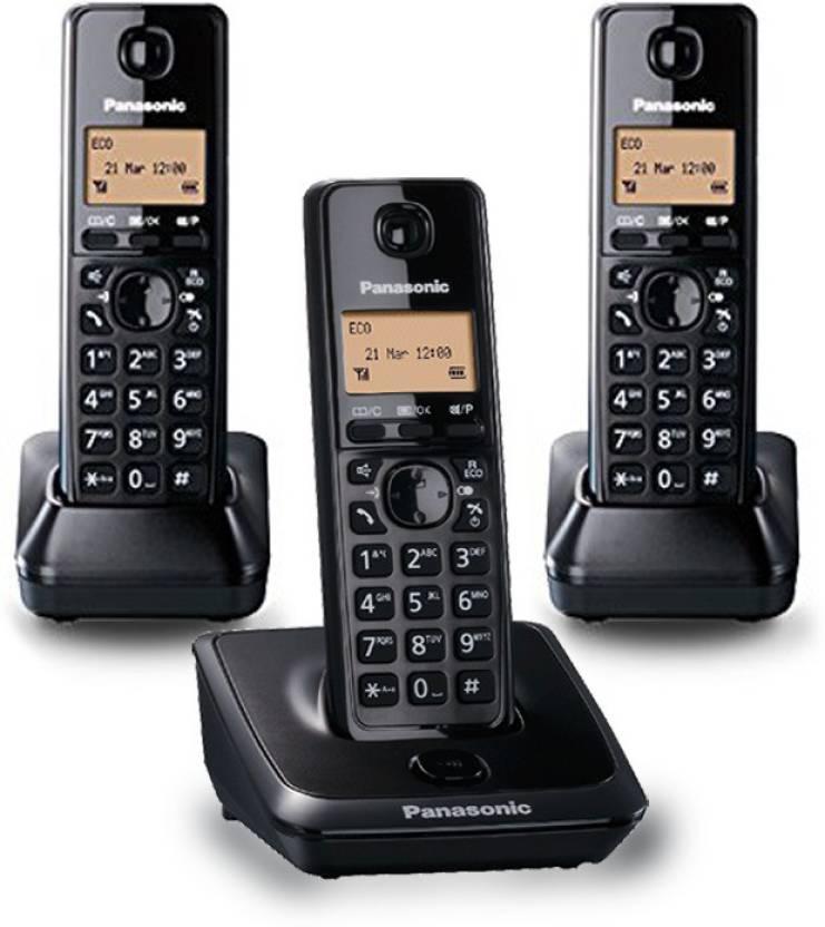 Panasonic 2713-B Cordless Landline Phone