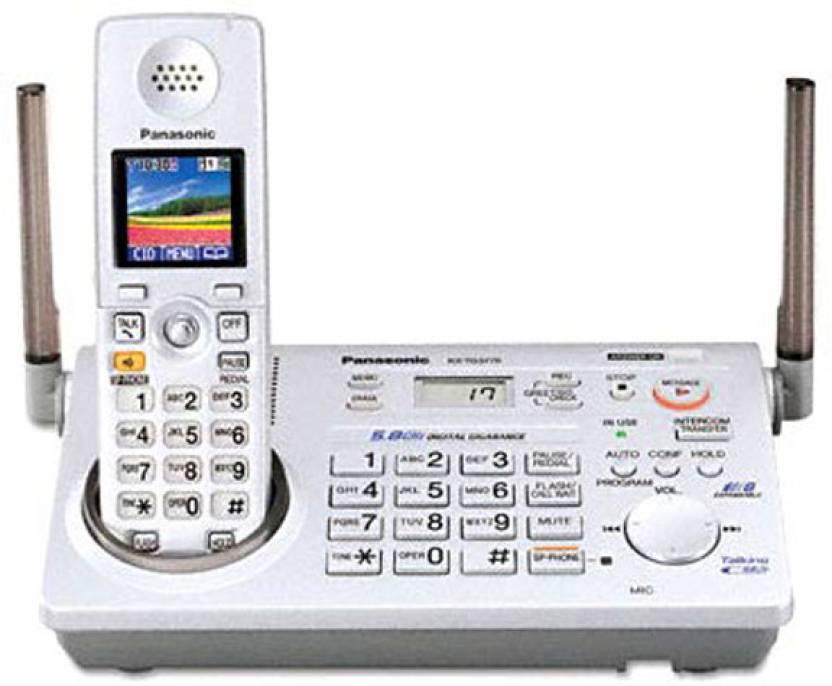 Panasonic PA-KX-TG5776 Cordless Landline Phone with Answering Machine