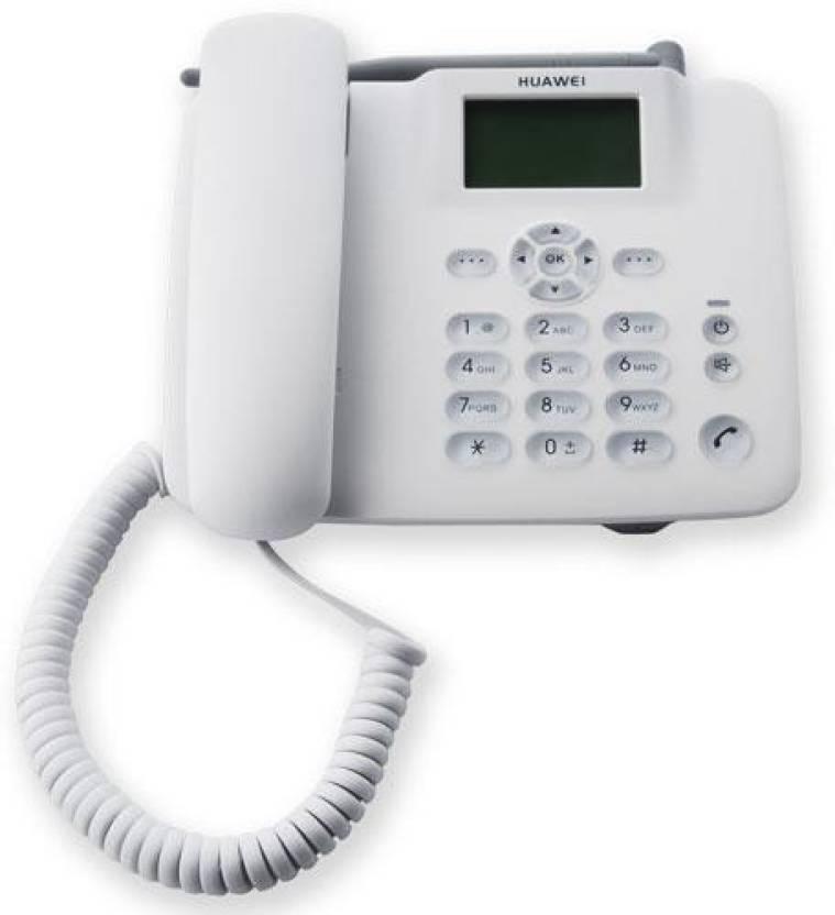 Huawei F317 SIM enabled Cordless with FM Radio Landphone Corded Landline Phone