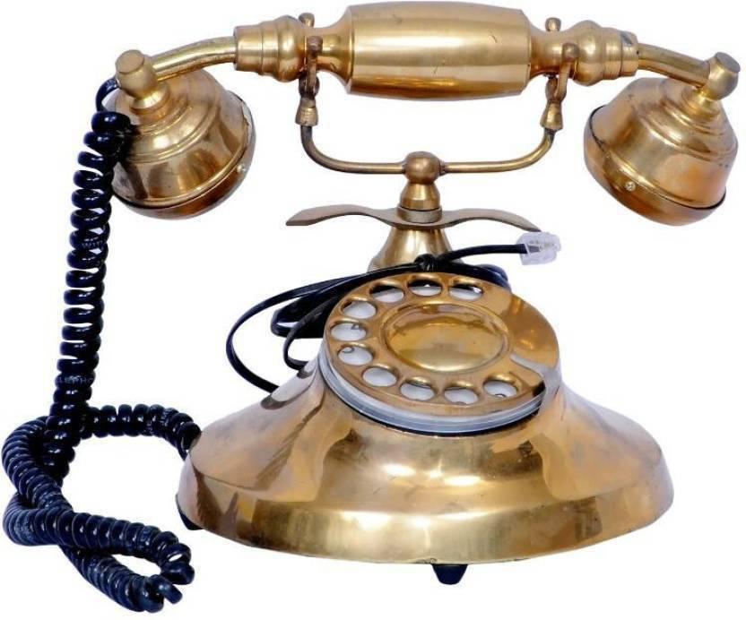 Royal Handicrafts KZ2569 Corded Landline Phone