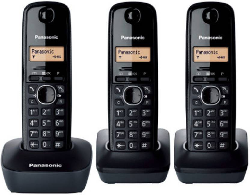 Panasonic Kx Tg 1613 Cordless Landline Phone Price In India Buy