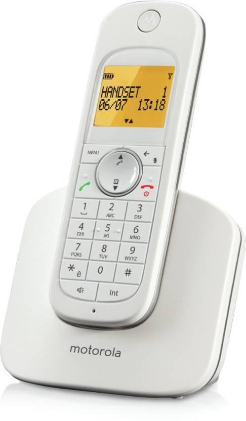 Motorola D1001I Cordless Landline Phone