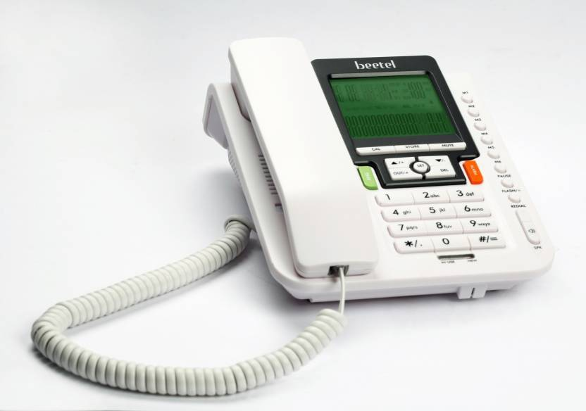 BEETEL M71 UPDATED VERSION WITH SCHEME Corded Landline Phone