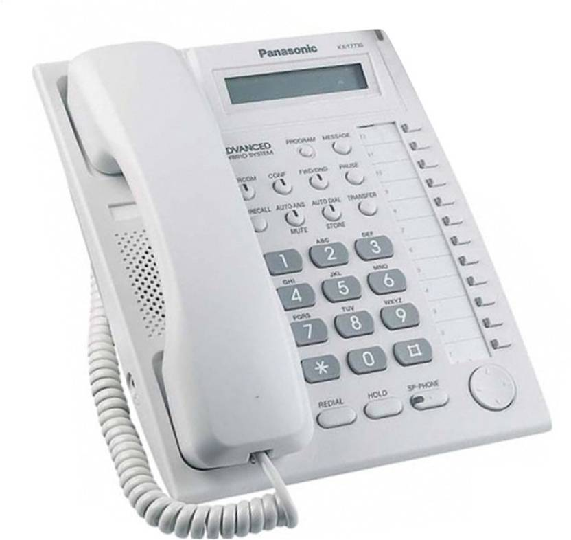 Panasonic Kx T7730x Corded Landline Phone With Answering Machine