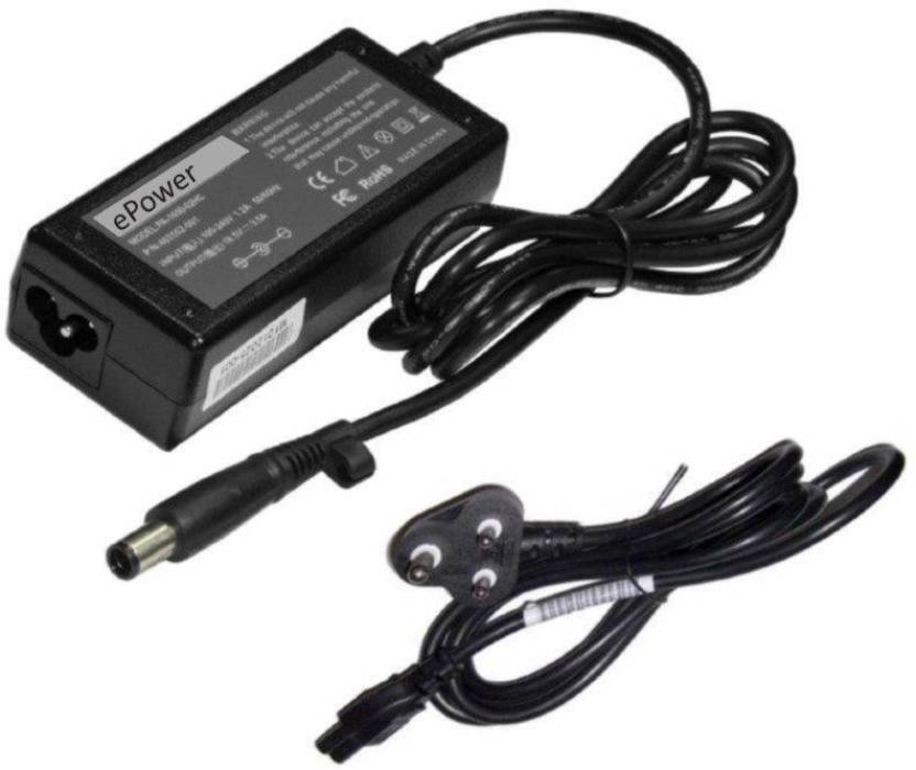 ePower HP Presario CQ40-520AX Laptop 65W Charger Black Tip 65 Adapter