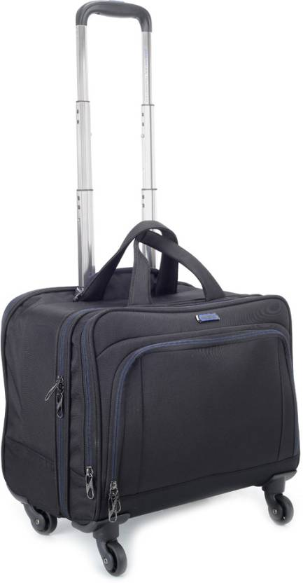 American Tourister 15 inch Trolley Laptop Strolley Bag Black - Price ... 0b8aaeb837
