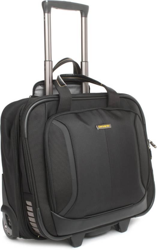 dc136a9796 Samsonite Laptop Strolley Bag Black - Price in India
