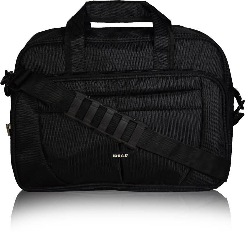 Ideal 15.6 inch Laptop Messenger Bag  (Black)