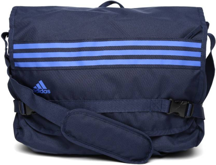 ADIDAS Laptop Messenger Bag COLLEGIATE NAVY - Price in India ...
