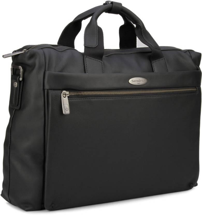 Samsonite Laptop Messenger Bag Black Price In India Flipkart Com