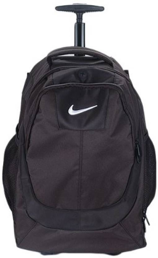 ea8b3165e0 Nike 17 inch Trolley Laptop Backpack Black293790 - Price in India ...
