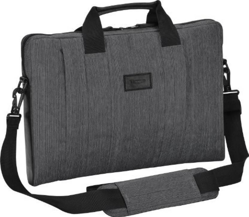 Targus 16 inch Laptop Messenger Bag Gray - Price in India  0190c8b3b7bb7