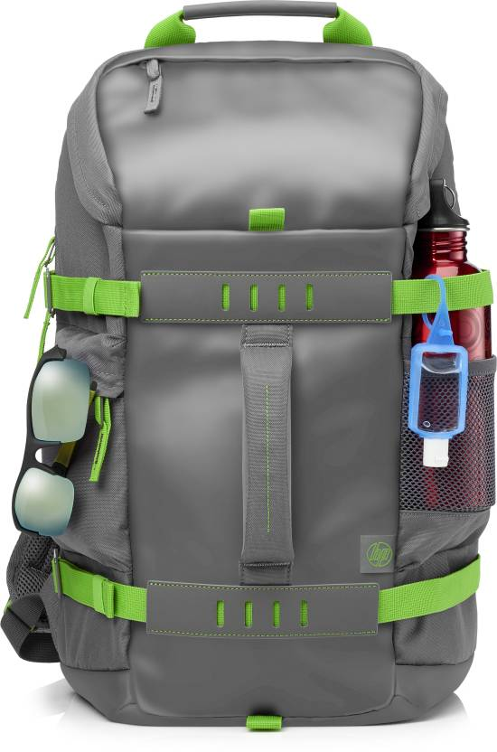 HP 15.6 inch Laptop Backpack  (Grey-Green) low price
