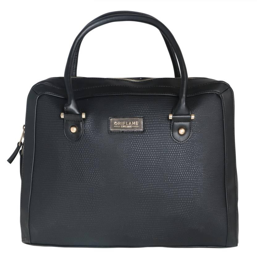 ce1a219e02e4e Oriflame 17 inch Laptop Tote Bag Black - Price in India