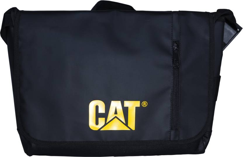 c1e8a923acd4 CAT 15 inch Laptop Messenger Bag Black - Price in India