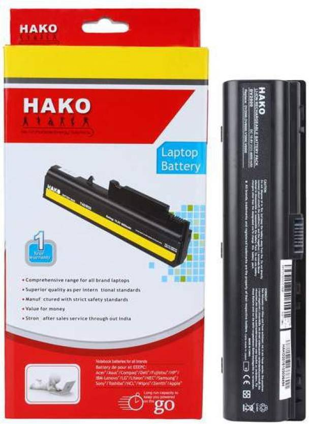 Hako HP Compaq Presario C700 Series 6 Cell Laptop Battery
