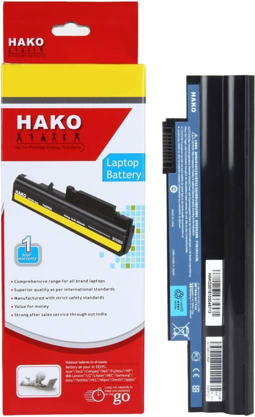 Hako Acer Aspire One D270 268KK 6 Cell Laptop Battery