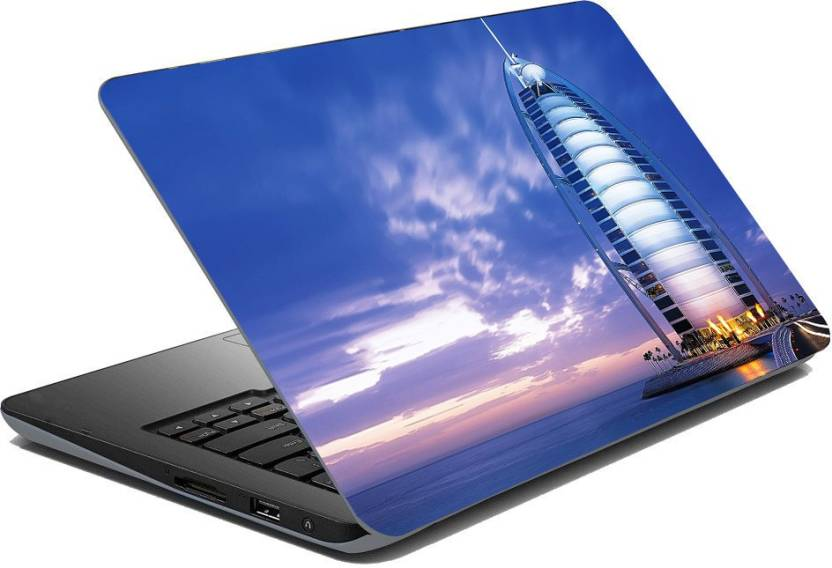 Royalina Beautiful City Dubai Love Vinyl Laptop Decal 15 6