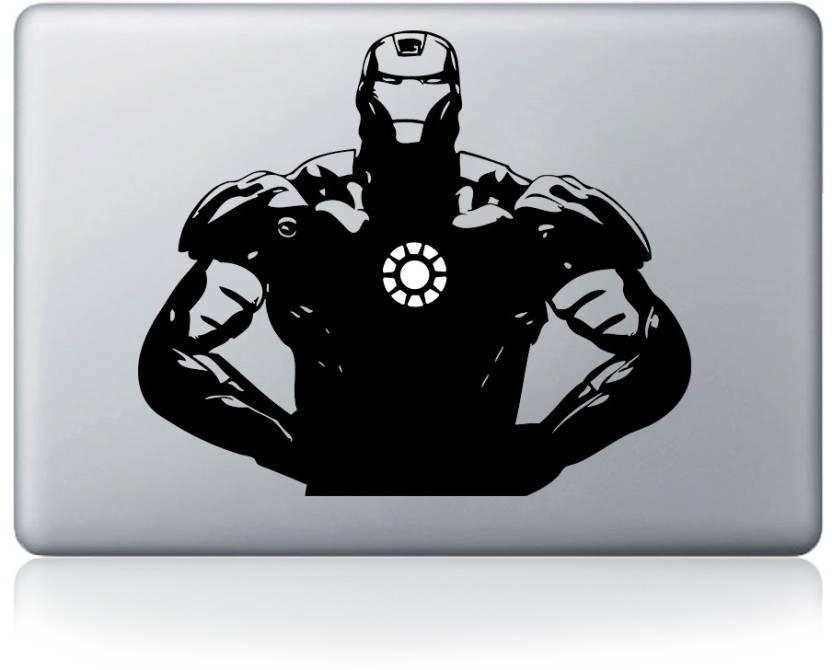 f5f4a440f4c9 Inkflame Iron Man Cool Apple Macbook Mac Sticker Skin Decal Vinyl ...