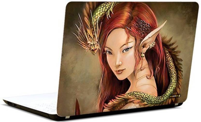 Pics and You Fantasy Themed 519 3M/Avery Vinyl Laptop Decal 15 6