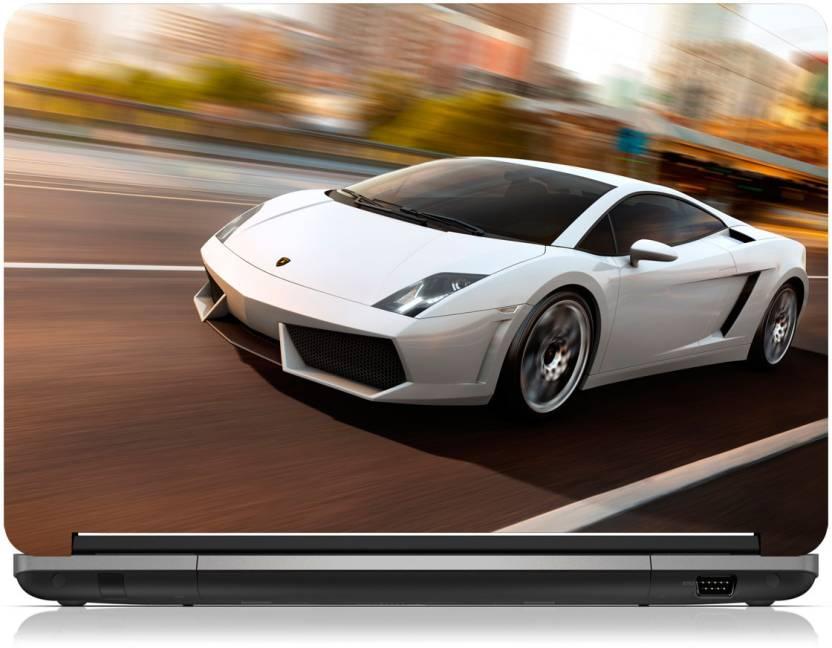 Zapskin Lamborghini Gallardo Lp560 White Skin Vinyl Laptop Decal