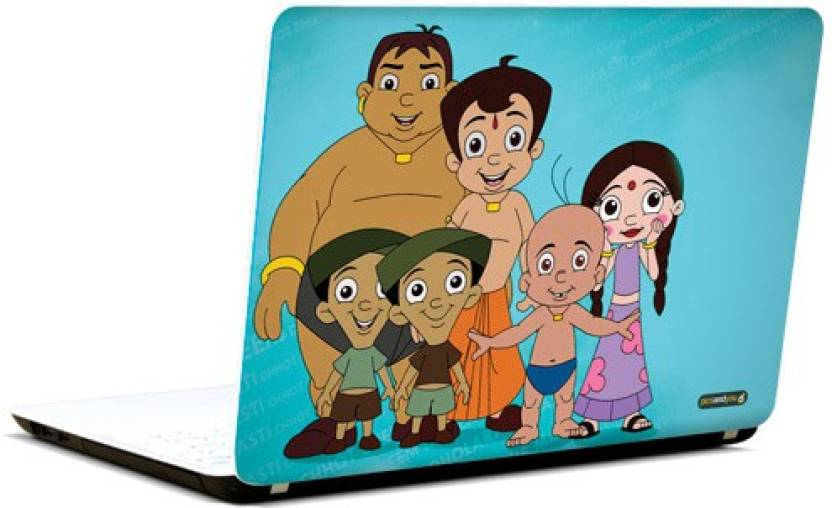 pics and you chhota bheem cartoon themed 21 3m avery vinyl laptop