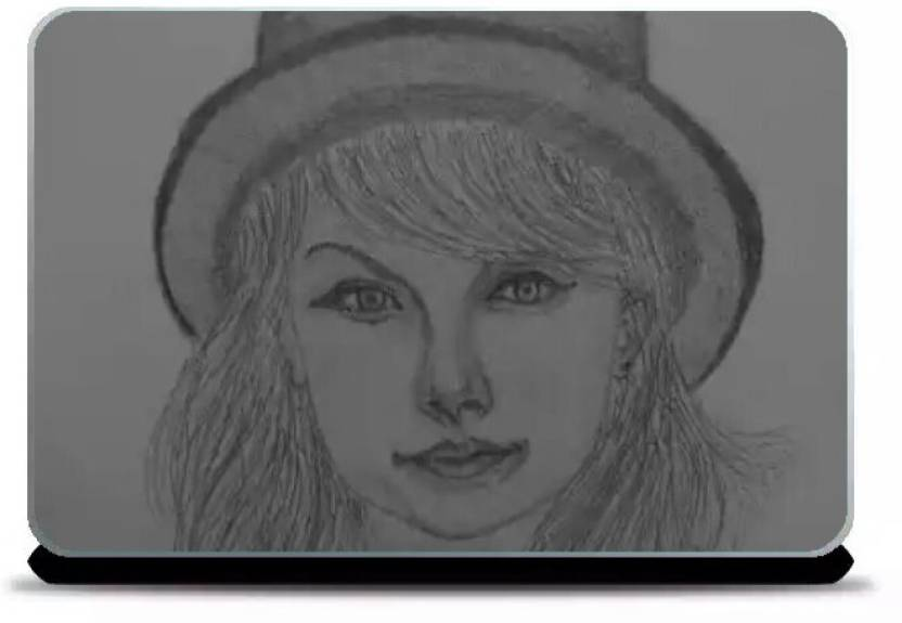 d79964505c Merchbay Taylor Swift Laptop Skin Artist Gaurav Sahu Vinyl Laptop Decal  13.3 Price in India - Buy Merchbay Taylor Swift Laptop Skin Artist Gaurav  Sahu Vinyl ...