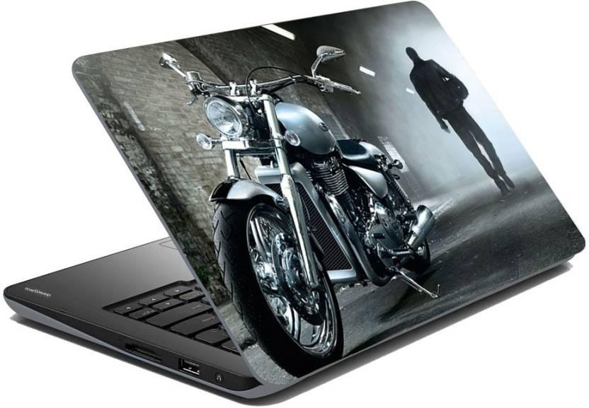 Upto 60% off On Laptop Skins & Decals By Flipkart | meSleep Bullet Bike Vinyl Laptop Decal 15.6 @ Rs.199