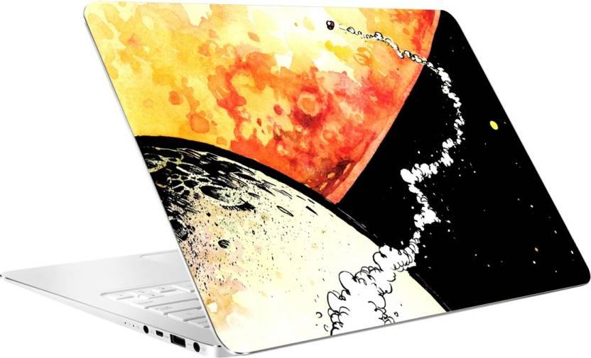 Av Styles Calvin And Hobbes Space Laptop Skin Vinyl Laptop Decal