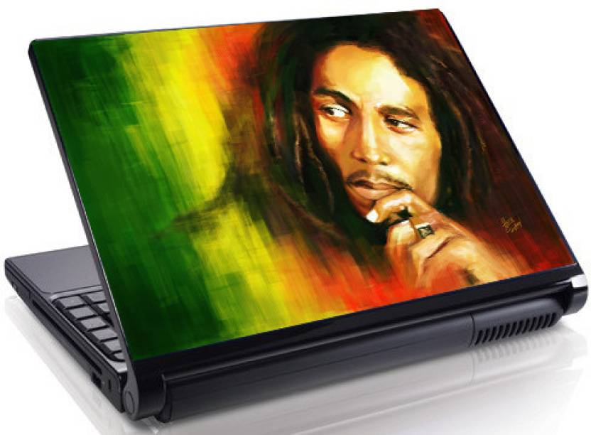 Theskinmantra Bob Marley Portrait Vinyl Laptop Decal 15 6