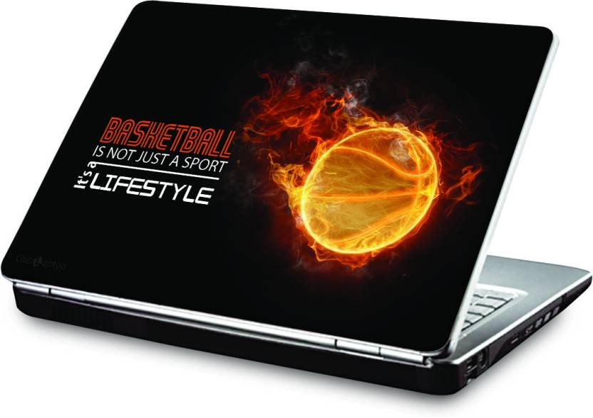 release date: 0df90 2b37a Clublaptop Basketball Lifestyle Vinyl Laptop Decal 15.6 Price in India -  Buy Clublaptop Basketball Lifestyle Vinyl Laptop Decal 15.6 online at  Flipkart.com