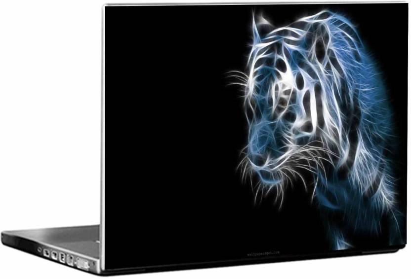 Shopnonline Abstract Cool 3d Lion Vinyl Laptop Decal 15 6