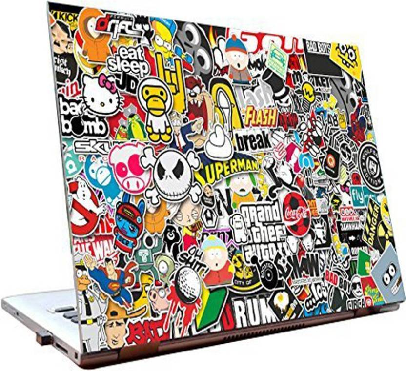 Dealmart laptop skins 15 6 inch stickers hd quality vinyl laptop decal 15 6