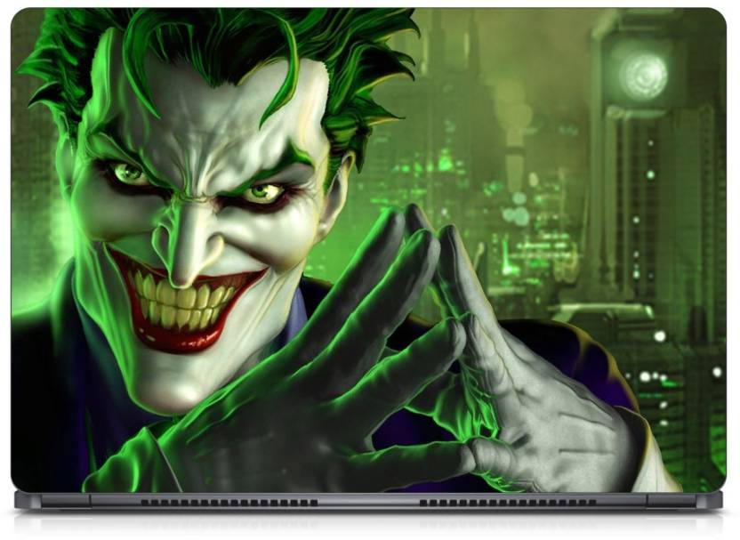 AaRJoo Joker Hd Wallpaper 4656 Vinyl Laptop Decal 156