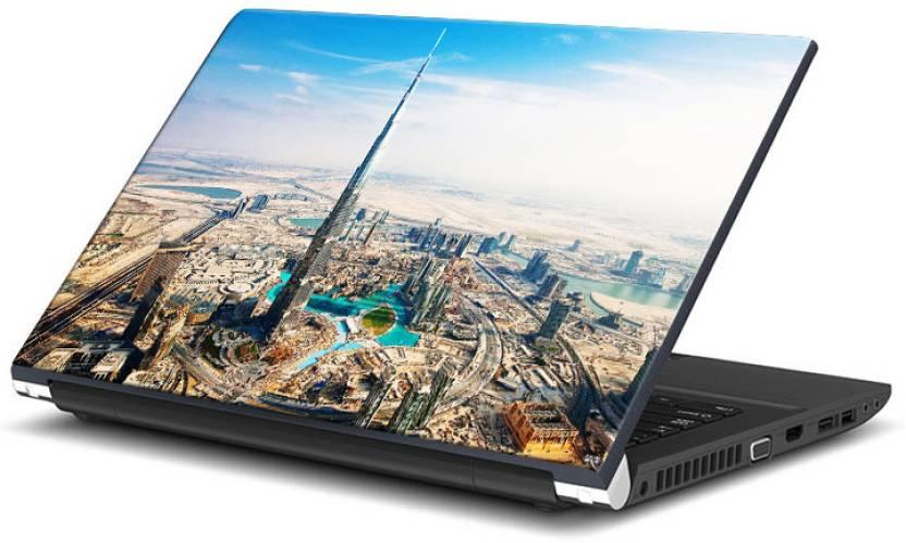 Bluegape Burj Khalifa Dubai Vinyl Laptop Decal 15 6 Price in