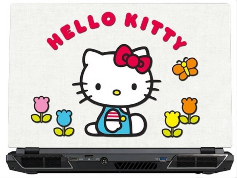 0b36eae6b SkinShack Hello Kitty White & Red (15.6 inch) Vinyl Laptop Decal 15.6 Price  in India - Buy SkinShack Hello Kitty White & Red (15.6 inch) Vinyl Laptop  Decal ...