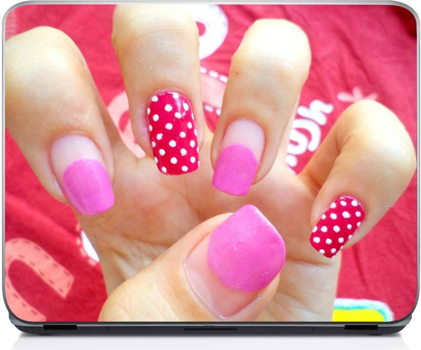 Holicshop Stylish Nail Art With Toothpick 5 Vinyl Laptop Decal 15.6 ...