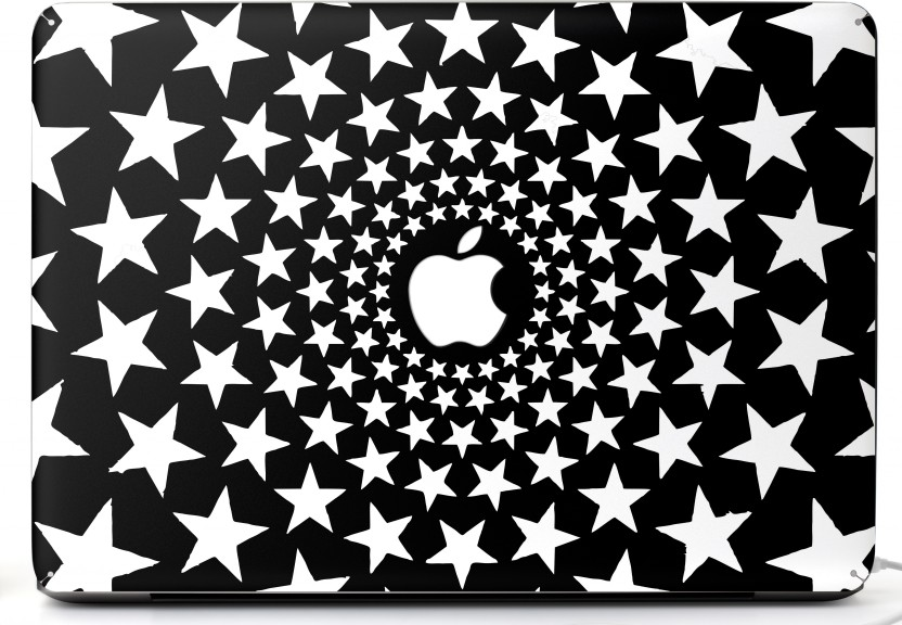 mic mair13inch081 macbook air 13inch skin with apple logo and round Stickers MacBook Air Cover mic mair13inch081 macbook air 13inch skin with apple logo and round edges cutout patented air release