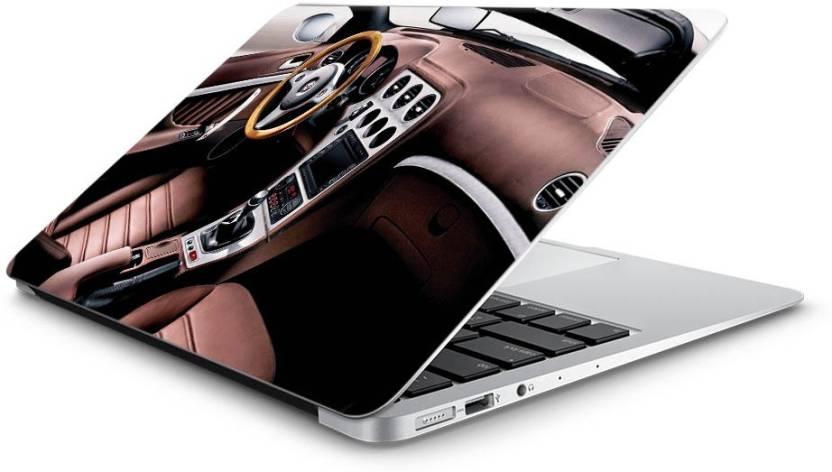 Hawtskin Alfa Romeo Inside Luxury Super Car Vinyl Laptop Decal 15 5