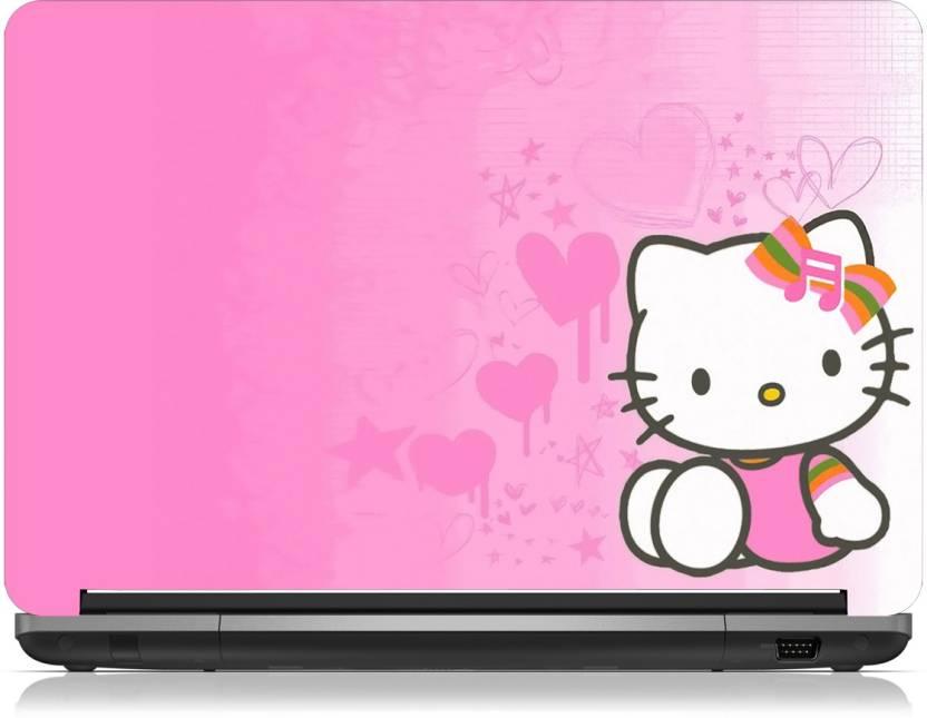 92bb601edb0b Brandpro Cute Hello Kitty Pink Best Skin-15.6 inch Vinyl Laptop ...