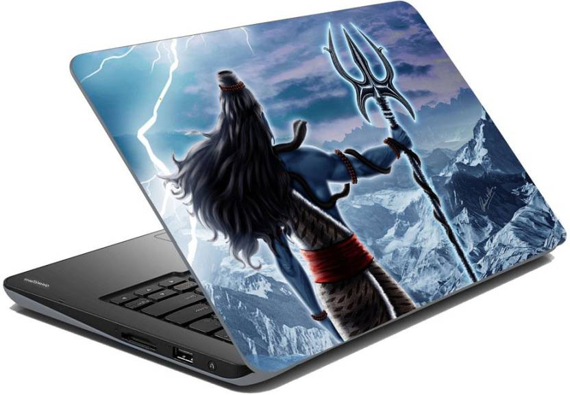 meSleep Rudra Shiv Vinyl Laptop Decal 15.6