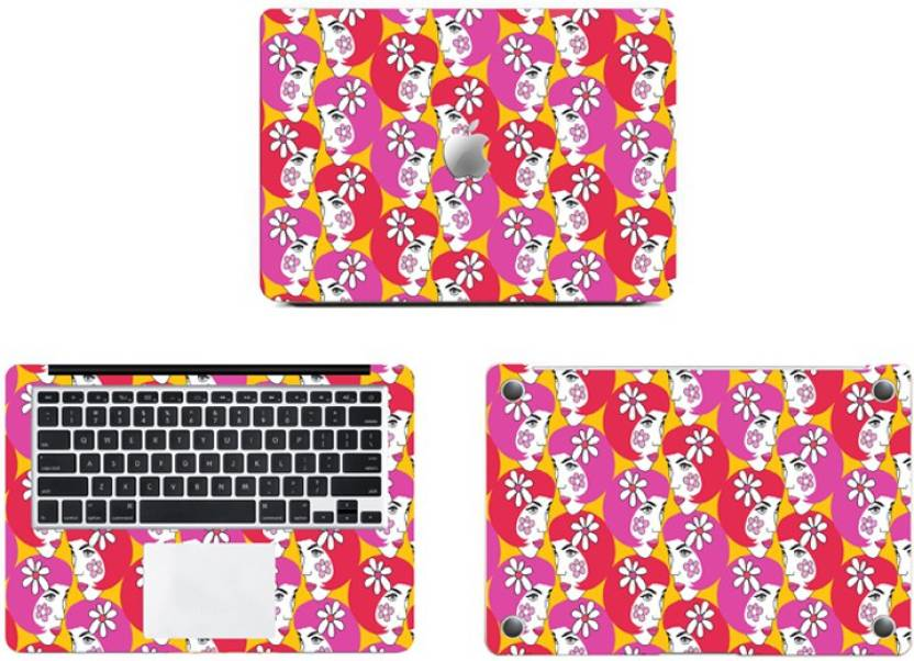 Swagsutra Floral Girl full body SKIN/STICKER Vinyl Laptop Decal 12