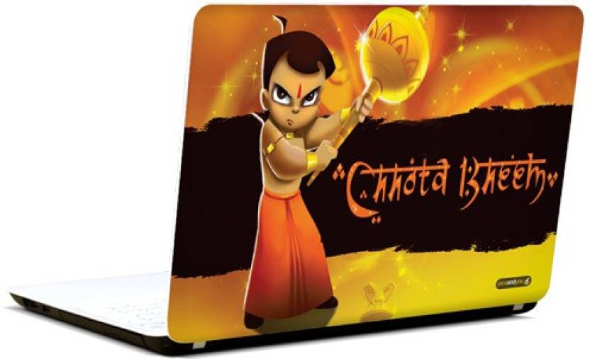 pics and you chhota bheem cartoon themed 20 3m avery vinyl laptop