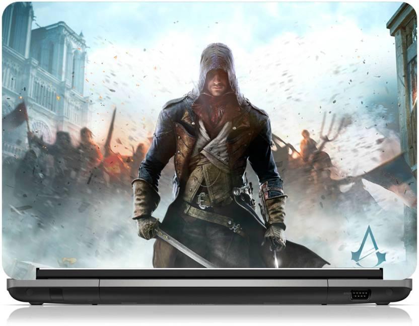 Zapskin Assassins Creed Unity Laptop Skin Vinyl Laptop Decal