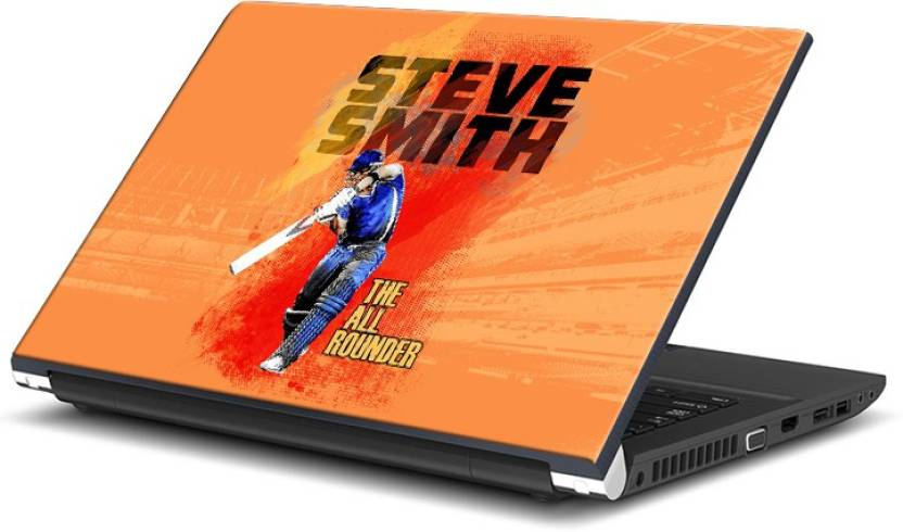 ShopMantra Steve Smith The All Rounder Vinyl Laptop Decal 15.6