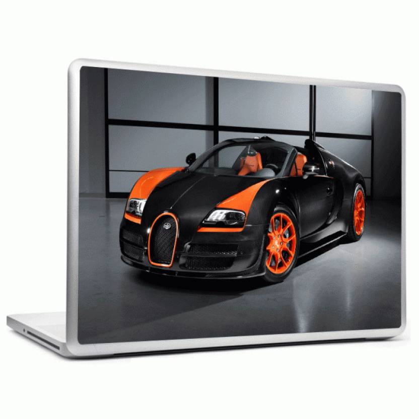 Bugatti Veyron Hypersport headturnerz bugatti veyron hypersport vinyl laptop decal 12.1 price