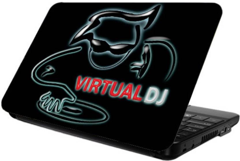 Printland Virtual DJ Vinyl Laptop Decal 13 Price in India